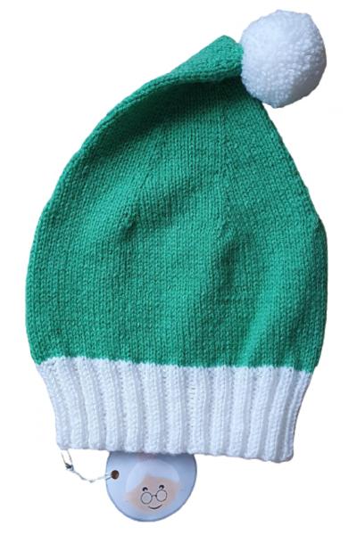 Zipfelmütze grün