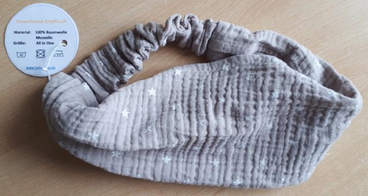 Haarband Kopftuch Musselin