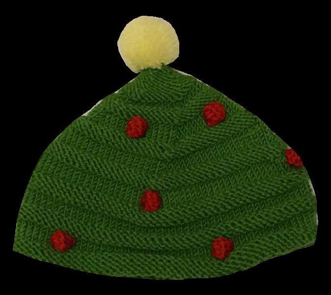 Weihnachtsbaummütze
