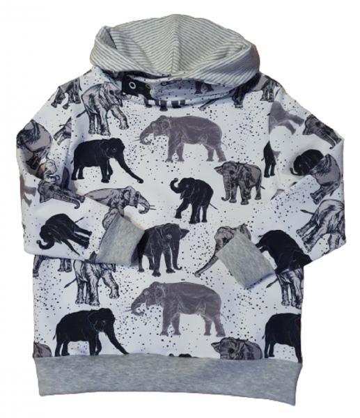 Hoodie Elefanten