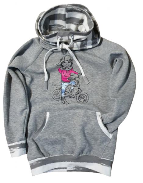 Hoodie Biker